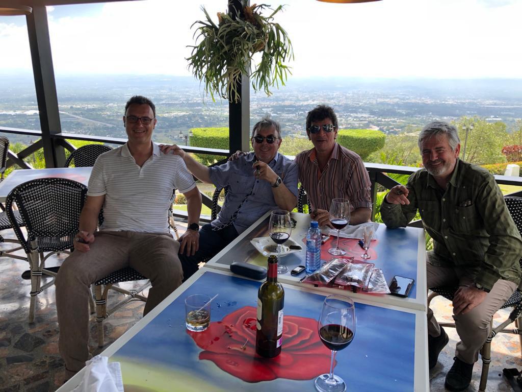 De izquierda a derecha, Pablo Montorio, Ramón Zapata, Jochy Blanco y Pepe Palacios.