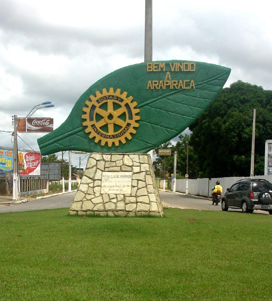 Escultura de Hoja de Tabaco - Arapiraca, Brasil.