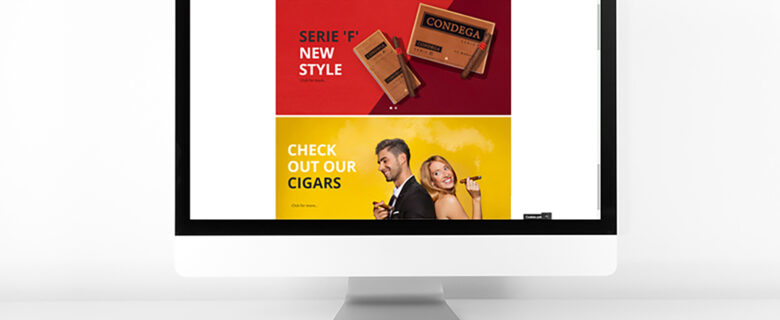 Website CONDEGA CIGARS 2019